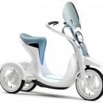 2011 Yamaha EC-Miu Electric Trike Scooter Concept