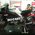 Rossi's Ducati Desmosedici GP12 First Picture