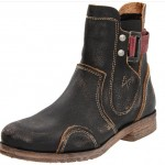 Fly London Men's Retro Motorcycle Boots