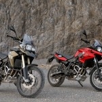 2013 BMW F700GS and BMW F800GS