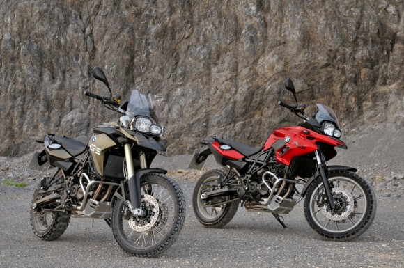 2013 BMW F700GS And BMW F800GS 580X385