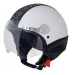 Vespa Stylish and Luxury Swarovski Helmets