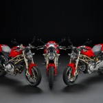 2013 Ducati 20th Anniversary Edition Monster, 1100 Evo, 796 and 696_7