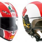 AGV Marco Simoncelli Tribute Helmets