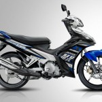 2013 Yamaha Jupiter MX 5-speed Manual Clutch Black Blue