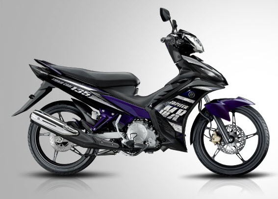 2013 Yamaha Jupiter MX 5-speed Manual Clutch Black Purple