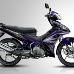 2013 Yamaha Jupiter MX Autoclutch Black Purple