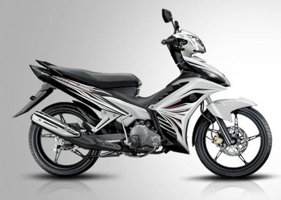 2013 Yamaha Jupiter MX Autoclutch Black White