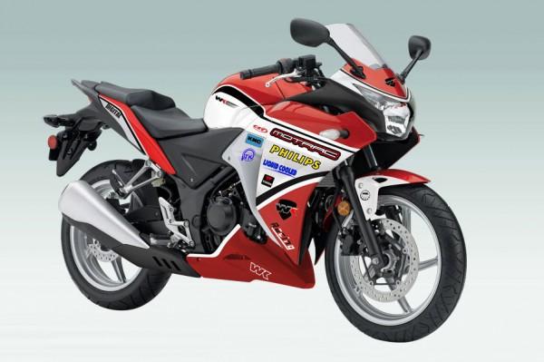 ZJMM R12, Honda CBR250R Look aLike
