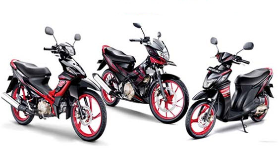 2013 Suzuki Black Fire Special Editions (Indonesia)