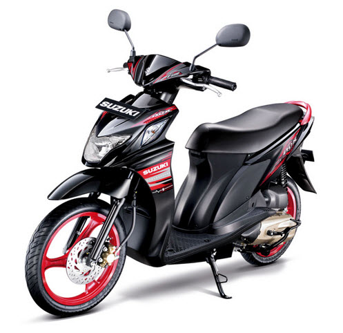 2013 Suzuki Nex Black Fire Edition