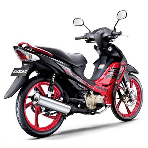2013 Suzuki Smash Titan Black Fire Edition
