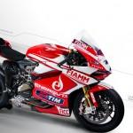 Alstare Unveils 2013 Ducati 1199 Panigale R WSBK Livery