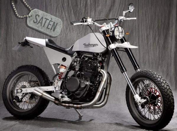 Headbanger Motorcycles Reveales the Saten Enduro