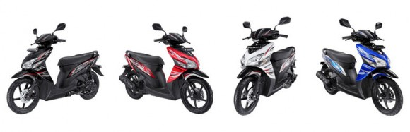 Honda Refresh the look of the 2013 Honda Vario CW