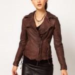 Muubaa Meggie Biker Leather Jacket
