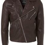 Oxblood Leather Biker Jacket