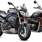 2013 Triumph Bonneville and Speed Triple Special Editions