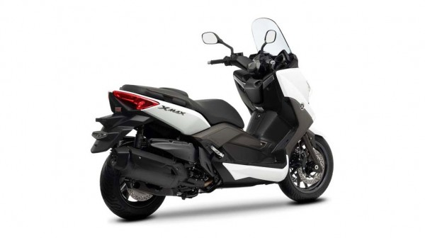 2013 Yamaha X-Max 400 Maxi-scooter Absolute White_2