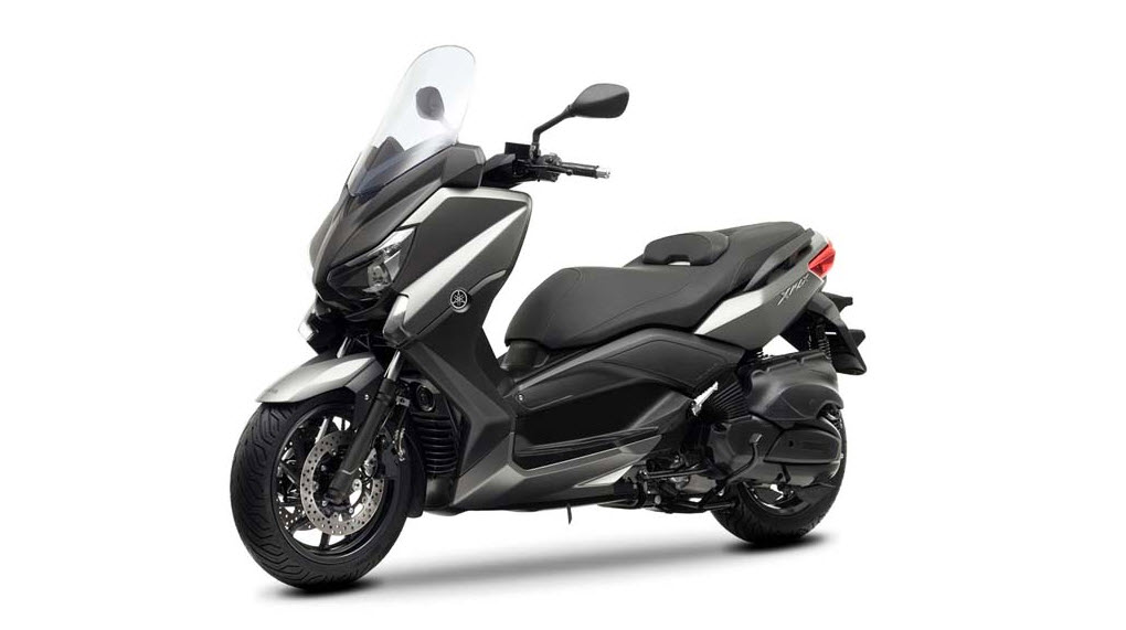 2013 yamaha x max 400 maxi scooter matt gray 6 at cpu hunter all pictures and news about. Black Bedroom Furniture Sets. Home Design Ideas