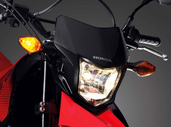 2014 Honda CRF250M Supermoto Headlamp_1