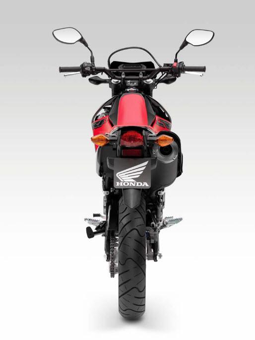 2014 Honda CRF250M Supermoto Rear