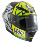 AGV Launches Corsa Valentino Rossi Winter Test Limited Edition Helmet