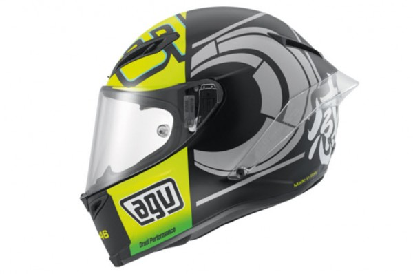 AGV Launches Corsa Valentino Rossi Winter Test Limited Edition Helmet_2