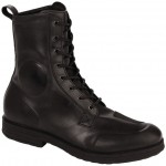 Fashion Black Leather Motorcycle Boots