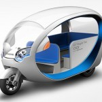 EV Tricycle Taxi by Terra Motors