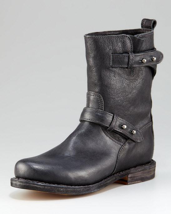 Rag & Bone Flat Motorcycle Boots