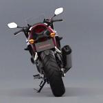 2014 Honda CBR400R Rear