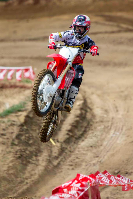 2014 Honda CRF250R In Action_17