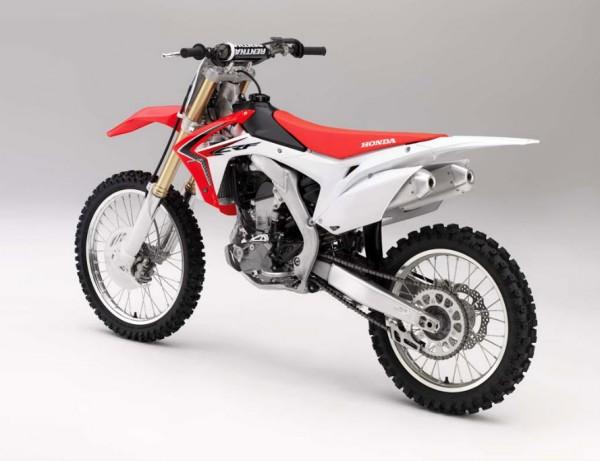2014 Honda CRF250R Rear Side