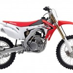 2014 Honda CRF250R Side