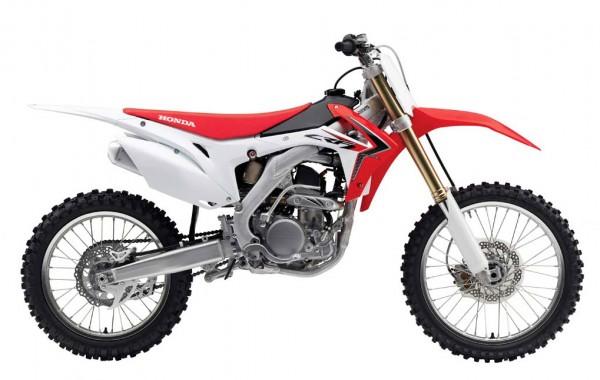 2014 Honda CRF250R Side