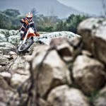 2014 KTM EXC in Action