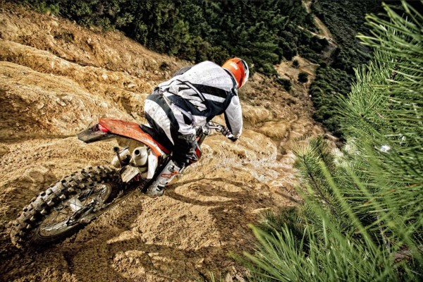 2014 KTM EXC in Action_3