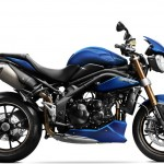 2014 Triumph Speed Triple Matt Caspian Blue