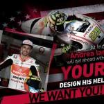 AGV Opens Contest to Design Andrea Iannone's MotoGP Helmet