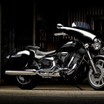 2013 Yamaha XV1900A Midnight Star Casual Full Dress