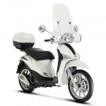 2014 Piaggio Liberty 3V Front Side