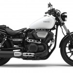 2014 Yamaha XV950 Competition White Right Side
