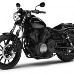 2014 Yamaha XV950 Midnight Black Front Side