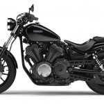 2014 Yamaha XV950 Midnight Black Left Side