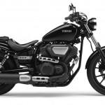 2014 Yamaha XV950 Midnight Black Right Side