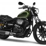 2014 Yamaha XV950R Camo Green