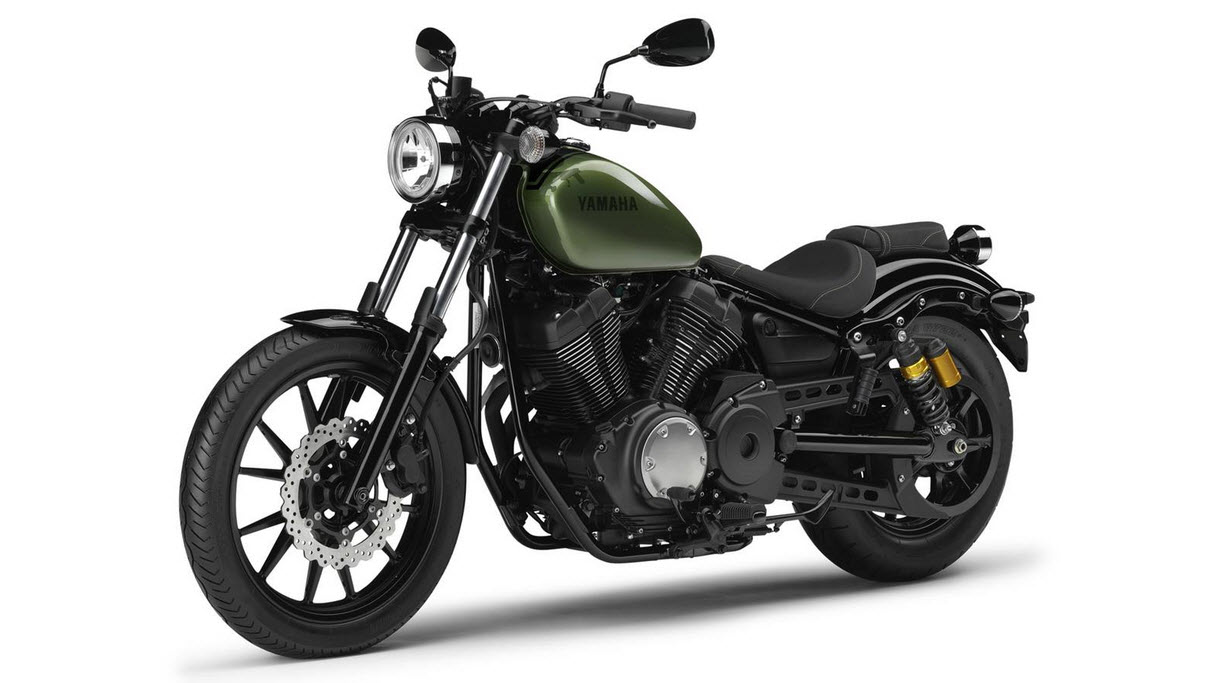 2014 yamaha xv950r camo green front side at cpu hunter. Black Bedroom Furniture Sets. Home Design Ideas