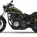 2014 Yamaha XV950R Camo Green Left Side