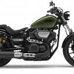 2014 Yamaha XV950R Camo Green Right Side
